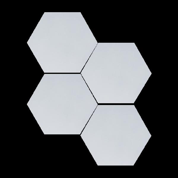 heksagony lustrzane