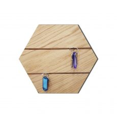 Heksagon-dąb-natura-wieszak